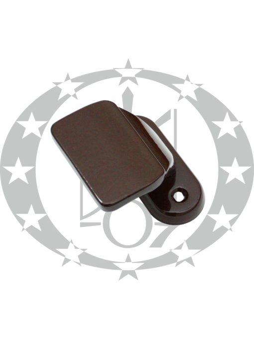 Ручка для балконних дверей KLINKE зовнішня коричнева