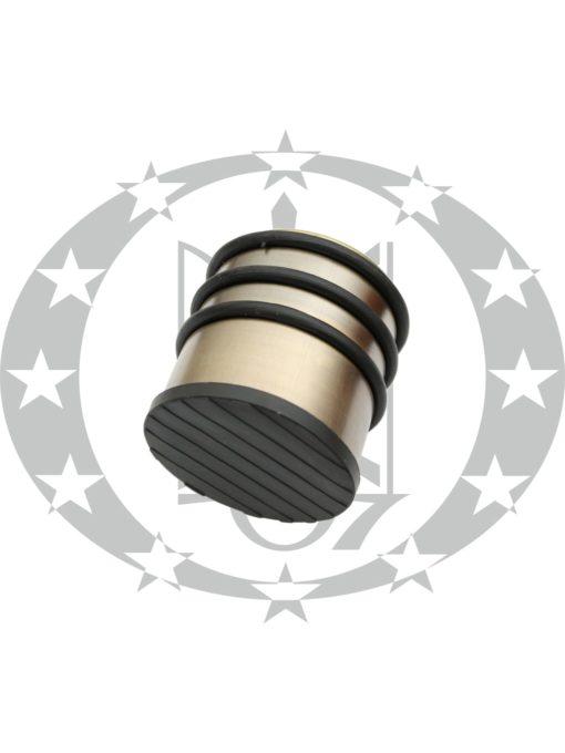 Дверний обмежувач Metal-Bud нержавійка бронза переносний високий