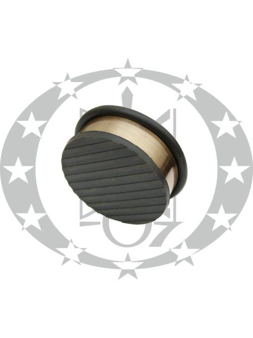 Дверний обмежувач Metal-Bud нержавійка бронза переносний низький