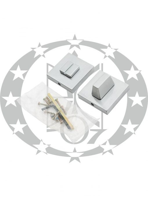 Дверна накладка Metal-Bud CUBE WC (SZQCMW) хром сатин
