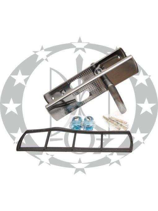 Ручка KEDR FL-6232 нікель сатин без підсвітки (до китайських дверей)