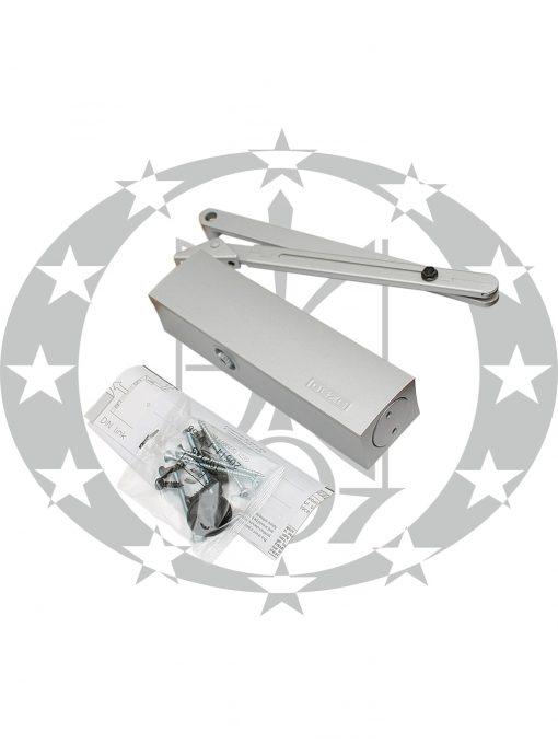 Амортизатор дверний GEZE TS2000 V BC тяга ричажна срібний
