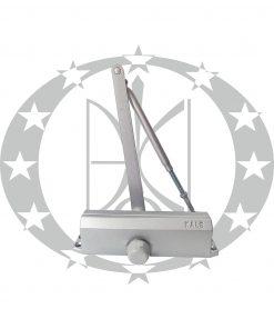Дверний дотягувач KALE KD002/50-550 срібний важільна тяга (80-120кг) 1200х2400