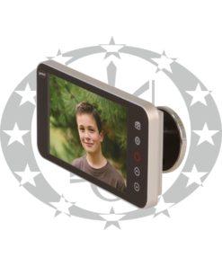 Відео - вічко Amig mod. DWR 4.0 HD (21377) срібло